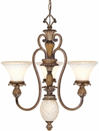 Livex 8453-57 Savannah Traditional Venetian Patina Chandelier Light