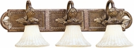 Livex 8463-57 Savannah Traditional Venetian Patina 3-Light Bathroom Vanity Light