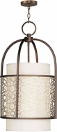 Livex 8677-64 Avalon Palacial Bronze with Gilded Accents Entryway Light Fixture