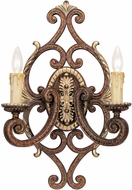 Livex 8862-64 Seville Traditional Palacial Bronze with Gilded Accents Wall Sconce Light