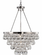 Matteo C00104CH Crystal Fruit Vacio Chrome 18  Pendant Lamp