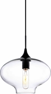 Matteo C41406CL Irresistible Organic Charm Contemporary Black Mini Drop Lighting
