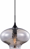 Matteo C41406SM Irresistible Organic Charm Modern Black Mini Drop Ceiling Lighting