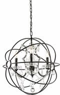 Matteo C43303BZ Orva Contemporary Bronze 20.5  Drop Ceiling Light Fixture