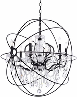 Matteo C43306BZ Orva Contemporary Bronze 32  Pendant Lighting