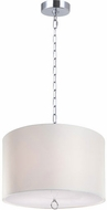 Matteo C45603CH Primo Deroga Chrome 25  Drum Hanging Pendant Light