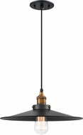Matteo C46113WGBK Bulstrode's Workshop Modern Warm Gold / Black Hanging Light