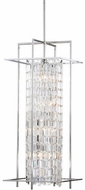 Matteo C47008CH Crystal Fiodo Lanterns Chrome Foyer Lighting