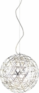 Matteo C48602CH Manhattan Contemporary Chrome LED 21.5  Drop Ceiling Light Fixture