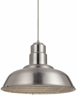 Matteo C54111BN Clarkson Modern Brushed Nickel Hanging Light Fixture