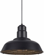 Matteo C54111MB Clarkson Contemporary Matte Black Drop Lighting