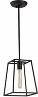 Matteo C57001RB Candor Modern Rusty Black 8.5  Foyer Lighting