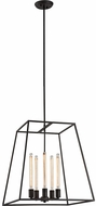 Matteo C57005RB Candor Modern Rusty Black 22  Foyer Lighting Fixture
