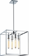 Matteo C58004CH Glowstick Contemporary Chrome 14  Entryway Light Fixture