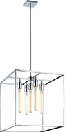 Matteo C58005CH Glowstick Modern Chrome 18  Foyer Lighting