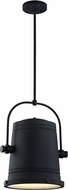 Matteo C58811RB Secchio Modern Rusty Black LED Drop Lighting