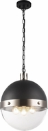 Matteo C61803BNCL Torino Contemporary Brushed Nickel Pendant Light Fixture