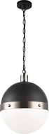 Matteo C61803BNOP Torino Contemporary Brushed Nickel Pendant Lighting Fixture