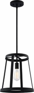 Matteo C65901MB Bustle Contemporary Matte Black 13  Foyer Lighting Fixture