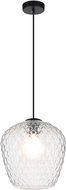 Matteo C68103CL Quilted Gem Modern Chrome Mini Drop Lighting