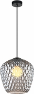 Matteo C68103SM Quilted Gem Contemporary Mini Drop Ceiling Lighting