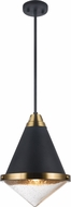 Matteo C70803MBBU Lloyd Contemporary Matte Black Ceiling Light Pendant