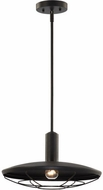 Matteo C75711MB Compton Matte Black Outdoor Hanging Light