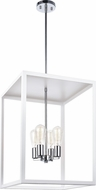 Matteo C76004WH Flare Contemporary White Entryway Light Fixture