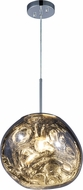 Matteo C76801SM Galactic Contemporary Smoke LED Hanging Light Fixture