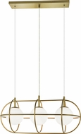 Matteo C76903GL Eclipse Contemporary Gold Ceiling Pendant Light