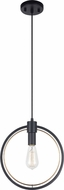 Matteo C78601BK Odyssey Modern Black Mini Drop Lighting