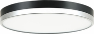 Matteo M15302BKCH Tone Contemporary Black and Chrome LED Home Ceiling Lighting