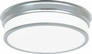 Matteo M15402CH Navo Contemporary Chrome LED Ceiling Light Fixture