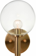 Matteo S06001AGCL Cosmo Aged Gold Brass Wall Sconce