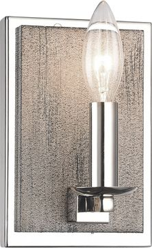 Matteo S07801WD Cordove Contemporary Wood Grain Wall Light Fixture