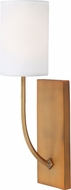 Matteo W55701AGB Contemporary Aged Gold Brass Wall Sconce Lighting