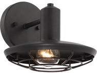 Matteo W75701MB Compton Matte Black Outdoor Wall Lighting Sconce
