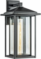 Matteo W81202MB Caldwell Matte Black Outdoor 17  Lighting Wall Sconce