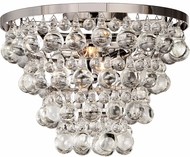Matteo X00202CH Crystal Fruit Vacio Chrome Overhead Lighting