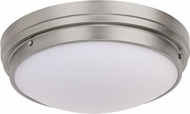 Matteo X46302BN Fresh Colonial Modern Brushed Nickel 13.5  Ceiling Lighting