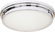 Matteo X46302CH Fresh Colonial Modern Chrome 13.5  Ceiling Light Fixture