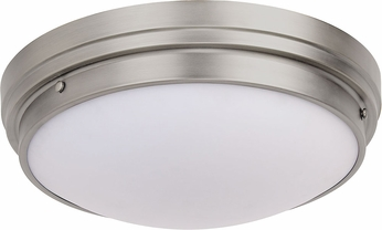 Matteo X46303BN Fresh Colonial Modern Brushed Nickel 17  Ceiling Light Fixture