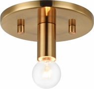 Matteo X54901AG Kasa Contemporary Aged Gold Brass Overhead Lighting