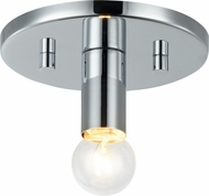 Matteo X54901CH Kasa Contemporary Chrome Flush Mount Lighting Fixture