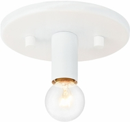 Matteo X54901WH Kasa Modern White Flush Ceiling Light Fixture