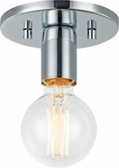 Matteo X54911CH Kasa Contemporary Chrome Overhead Light Fixture
