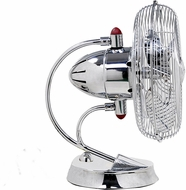 Matthews CI-CR Cinni Polished Chrome Interior/Exterior 13  Oscillating Table Fan