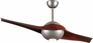 Matthews CIV-BN-RW C-IV Modern Brushed Nickel LED Interior/Exterior 60  Ceiling Fan