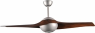 Matthews CIV-BN-WN C-IV Contemporary Brushed Nickel LED Interior/Exterior 60  Home Ceiling Fan