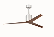 Matthews EK-BN-WN Eliza Modern Brushed Nickel Interior/Exterior 56  Home Ceiling Fan